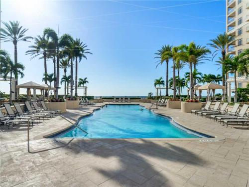 The swimming pool at or near Sand Pearl 1406, 2 Bedrooms, Diamond Rated, Pool, Gym, Sleeps 6