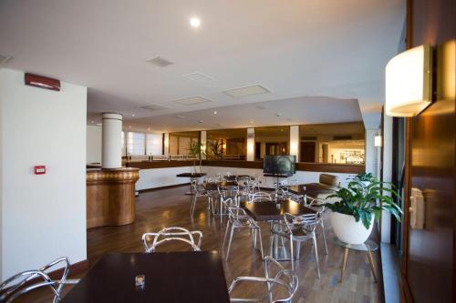 Una cocina o zona de cocina en Hotel Norden Palace