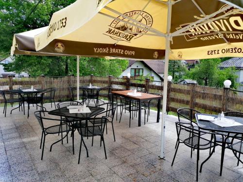 Restaurace v ubytování Penzion a restaurace U Jana