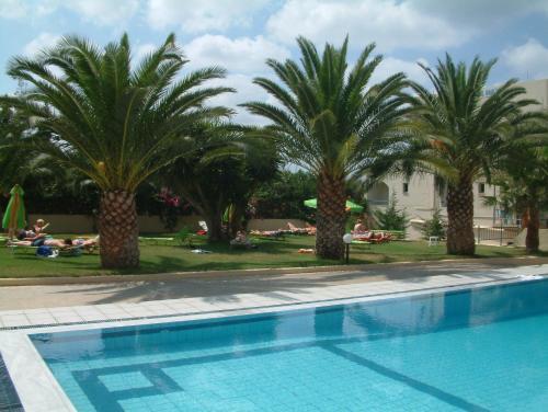 Het zwembad bij of vlak bij Theoni Apartments