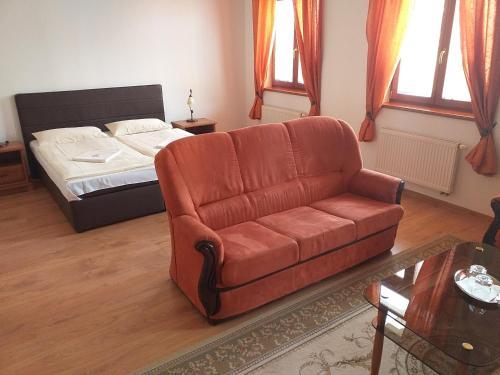 Posedenie v ubytovaní Penzion Scarlet