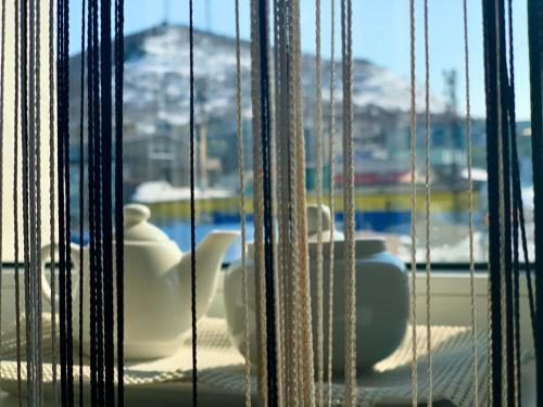 Вид на бассейн в Apartaments Tornades или окрестностях