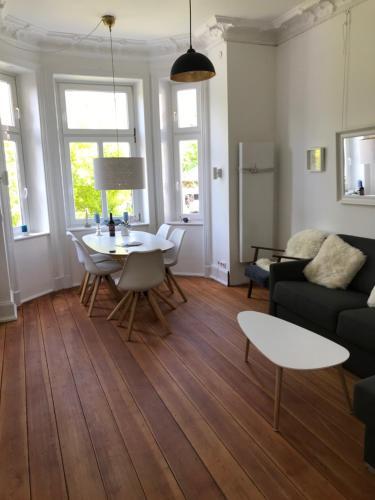 A seating area at Villa Wakenitz