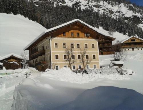 Ferienwohnung Innerlipper im Winter