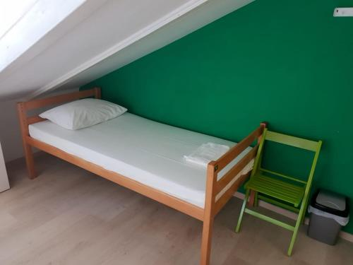 A bed or beds in a room at Hostel Split Garden