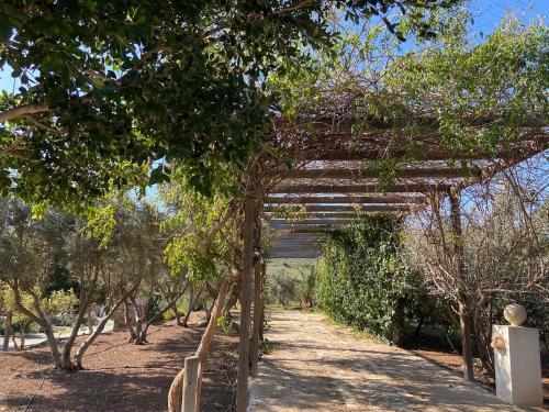 Jardín al aire libre en Cortijo Torreblanca