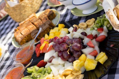 Comida en the country house o alrededores