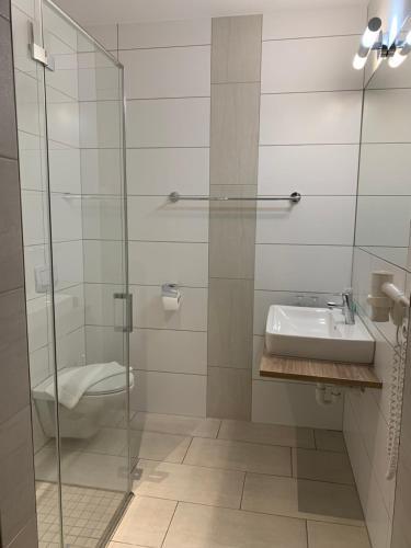 Ванная комната в Da Yang
