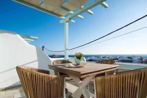 A balcony or terrace at Villa Meliti