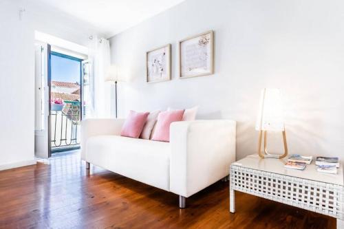 A seating area at LoveLisbonApartments Alfama Best Balcony
