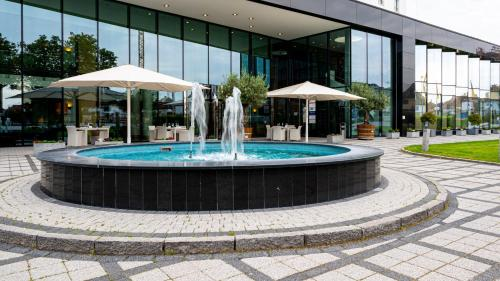 The swimming pool at or near Hotel Stadt Freiburg
