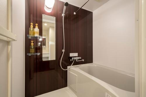 A bathroom at Eisei Stay