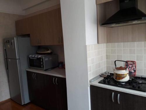 A cozinha ou cozinha compacta de BAKU CITY CENTR .Bedroom 1.