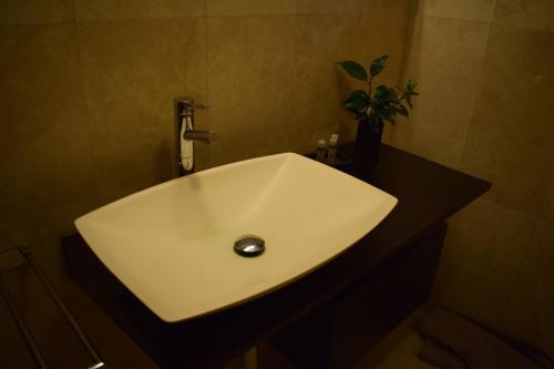 A bathroom at Casa do Neveiro