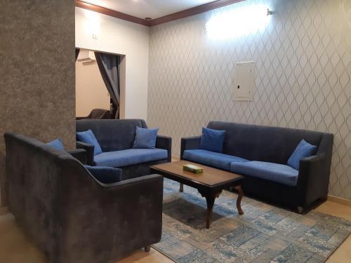 Uma área de estar em دار البندقية للوحدات السكنية