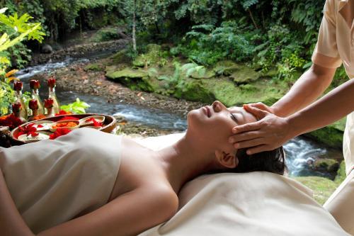 El spa o centro de bienestar en Hotel Tjampuhan Spa
