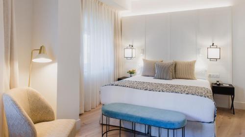 Cama o camas de una habitación en Molina Lario