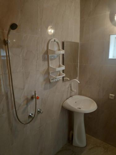 Um banheiro em Flamingo Nabran