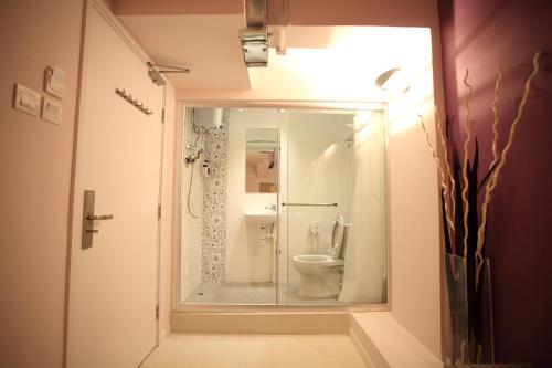 Ein Badezimmer in der Unterkunft InnSight