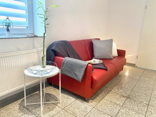 A seating area at Chez Coco Apartment 1 Aachen