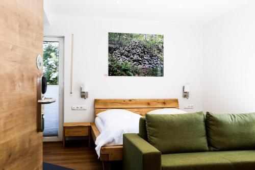 A seating area at Landhotel Grashof