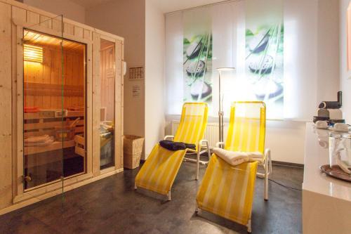 Spa und/oder Wellnesseinrichtungen in der Unterkunft Hotel Am Grudenberg