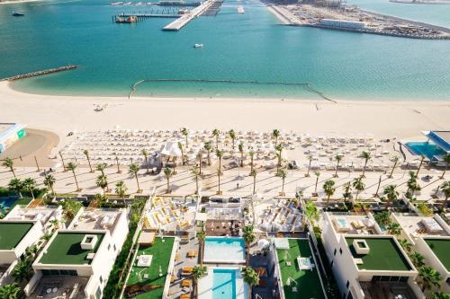 מבט מלמעלה על Five Palm Jumeirah Dubai