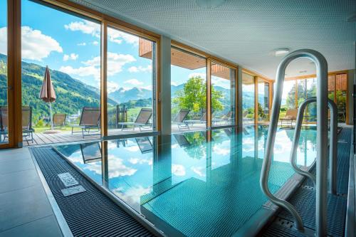 Bazén v ubytování Sun Lodge Schladming by Schladming-Appartements nebo v jeho okolí