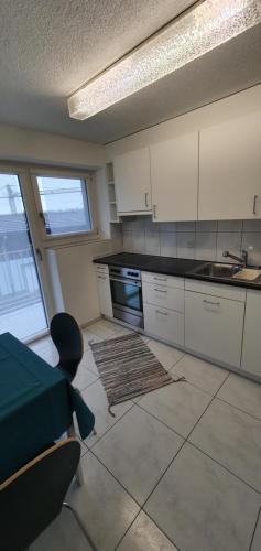 Küche/Küchenzeile in der Unterkunft Gasthaus zum Ochsen