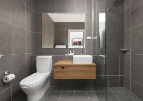 A bathroom at Abode Murrumbateman