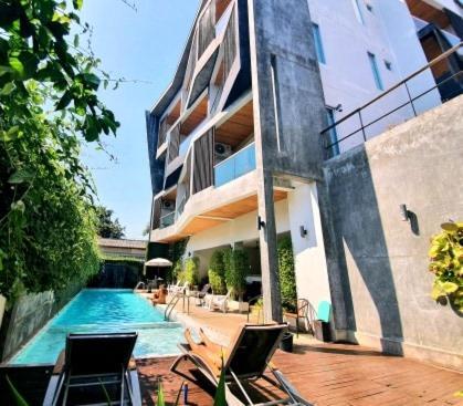 The swimming pool at or near Lemonade Phuket Hotel -SHA Plus
