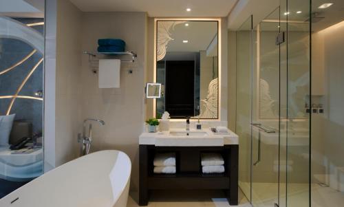 A bathroom at The Lind Boracay
