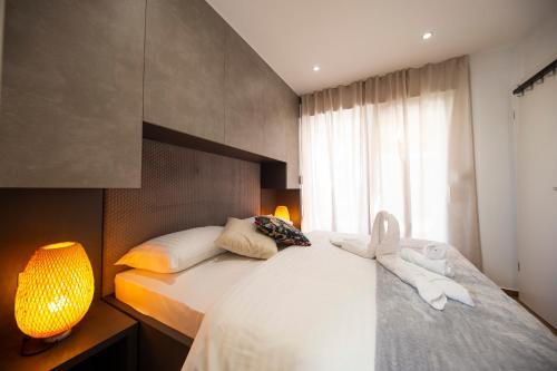 Postel nebo postele na pokoji v ubytování Royal Green Villa