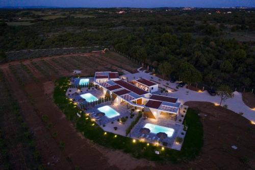 Letecký snímek ubytování Royal Green Villa