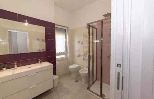A bathroom at B&B Orchidea