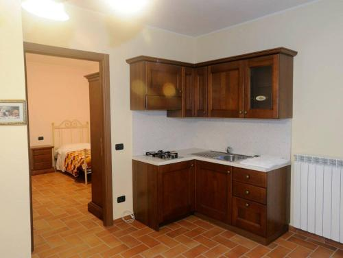 A kitchen or kitchenette at Agriturismo AMA