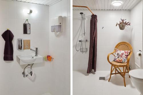 Et badeværelse på Tokkeruplund