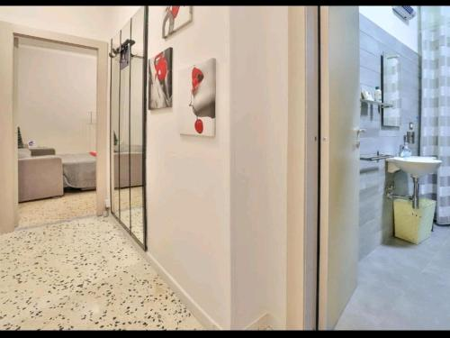 A bathroom at Casa vacanza Arcangeli