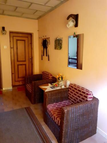 Гостиная зона в Apartment Irena