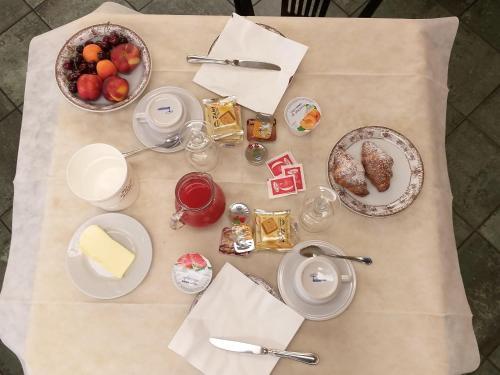 Завтрак для гостей Hotel Berlinghera