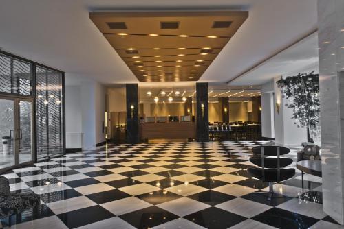 The lobby or reception area at Aquila Atlantis Hotel