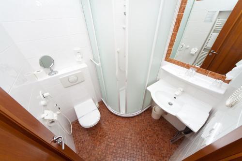 Ванная комната в Boutique Hotel 16