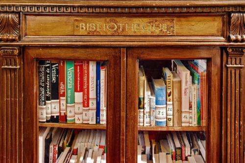 Biblioteca no hotel