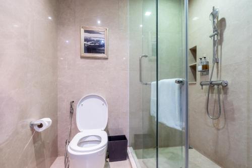 A bathroom at The Chiang Mai Riverside