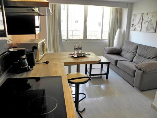 Zona de estar de JSM Apartamentos