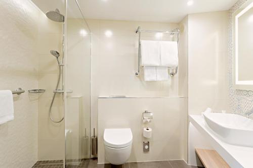 A bathroom at Radisson Blu Daugava Hotel, Riga