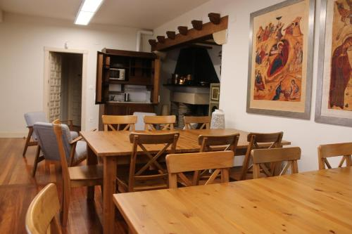 A restaurant or other place to eat at HOSPEDERÍA SAN JOSÉ