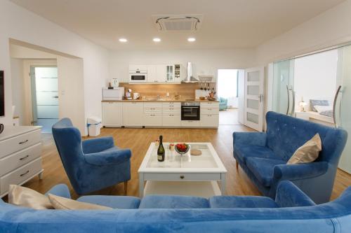 Posezení v ubytování Apartments Villa Whitehouse