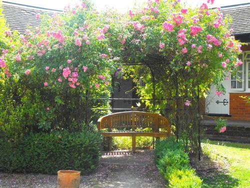 A garden outside Marygreen Manor