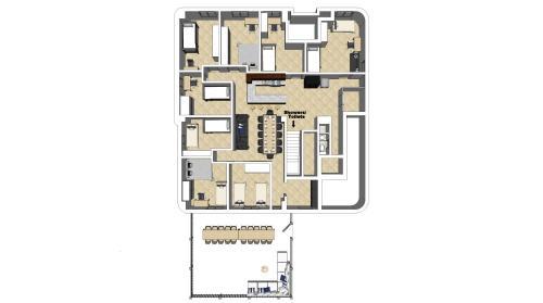 Grundriss der Unterkunft Casa BARvaria